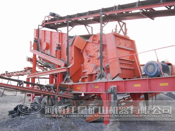 河卵石制沙生产线