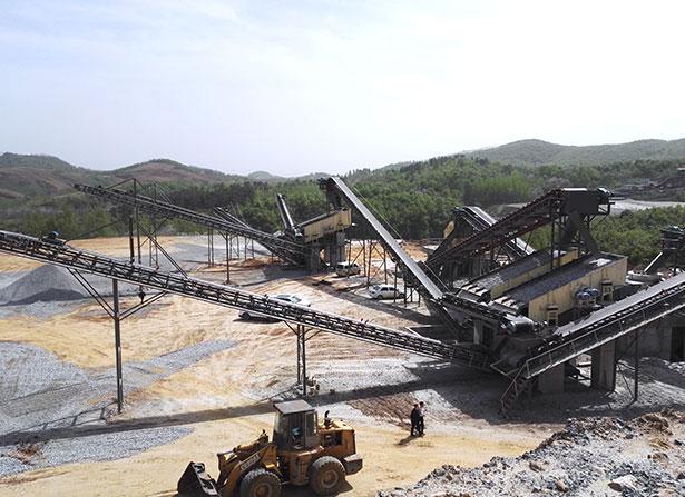 福建漳州大型河卵石制砂生产线