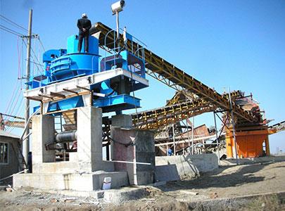 400T/H内蒙古制砂生产线